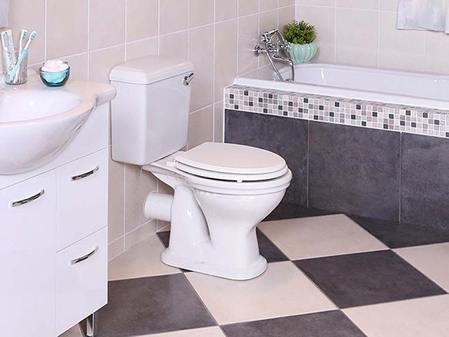 Záchod v koupelně
